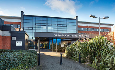 Victoria Central Health Centre, Wallasey